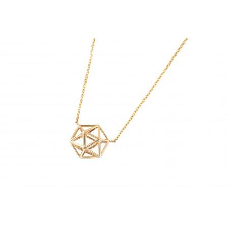 Collar triangulo geométrico...