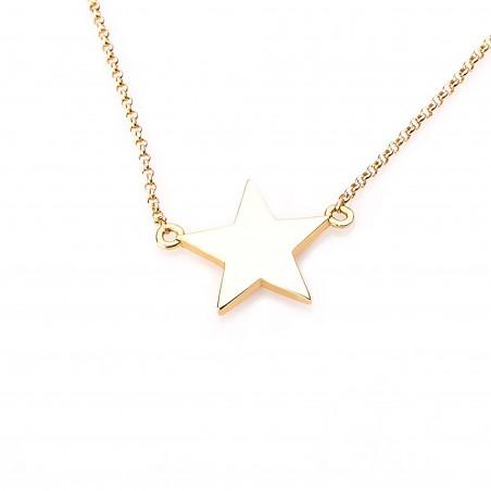 Collar estrella liso, con...